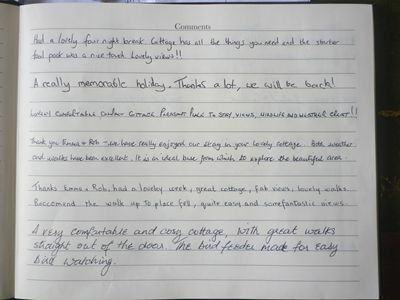 The How Cottage in Patterdale Guest Comments